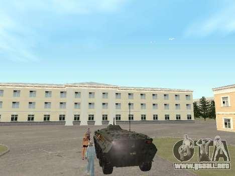 BTR 80 Frente para la visión correcta GTA San Andreas