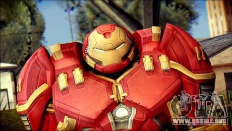 Hulkbuster Iron Man v1 para GTA San Andreas tercera pantalla