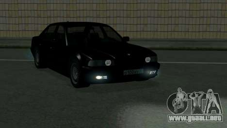 BMW 750i e38 para vista lateral GTA San Andreas