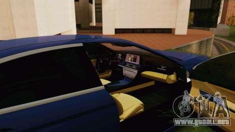 BMW 6 Series Gran Coupe 2014 para la visión correcta GTA San Andreas