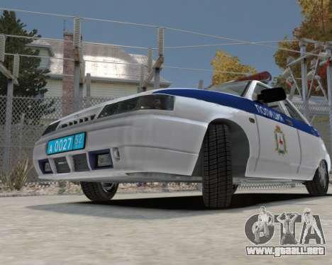VAZ 2112 DPS para GTA 4 vista hacia atrás