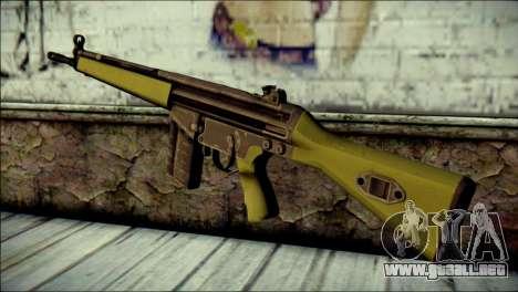 HK G3 Normal para GTA San Andreas segunda pantalla