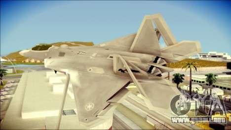 FA-18D Hornet Blue Angels para GTA San Andreas left