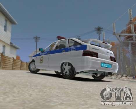 VAZ 2112 DPS para GTA 4 left