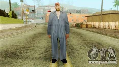 Mecánico barbudo para GTA San Andreas