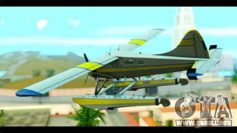 GTA 5 Sea Plane para GTA San Andreas left