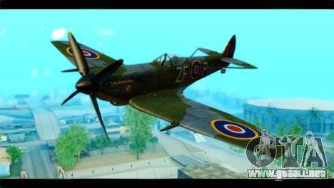 Supermarine Spitfire F MK XVI 318 SQ para GTA San Andreas