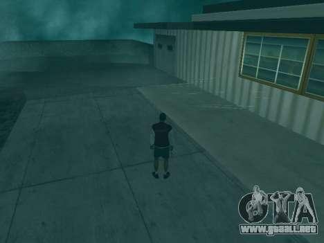 La trayectoria de las balas para GTA San Andreas segunda pantalla