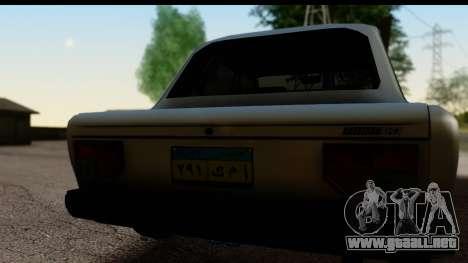 Fiat 128 para la visión correcta GTA San Andreas