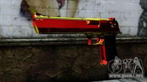 Desert Eagle España para GTA San Andreas