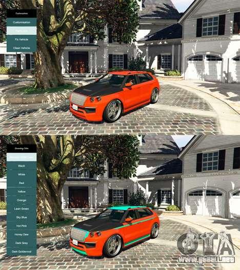 GTA 5 Instant Customs v1.0 cuarto captura de pantalla