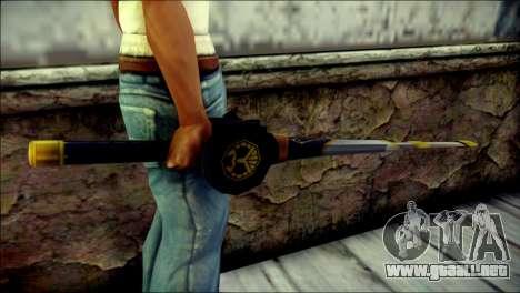 Saber Dice Kamen Rider Beast para GTA San Andreas tercera pantalla