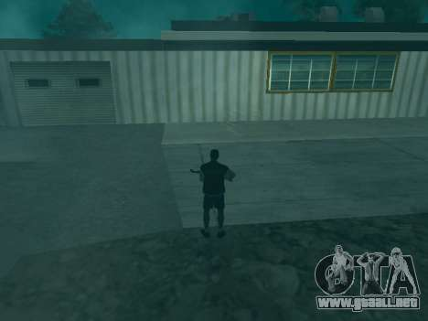 La trayectoria de las balas para GTA San Andreas tercera pantalla