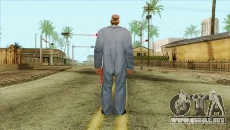 Mecánico barbudo para GTA San Andreas segunda pantalla