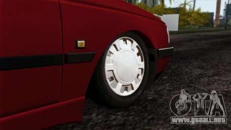 Peugeot 405 Pickup para GTA San Andreas vista posterior izquierda