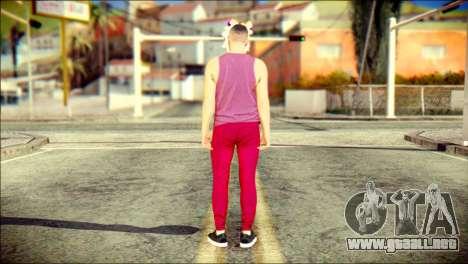 Skin Kawaiis GTA V Online v1 para GTA San Andreas segunda pantalla