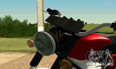 IZH Planeta-4 para visión interna GTA San Andreas