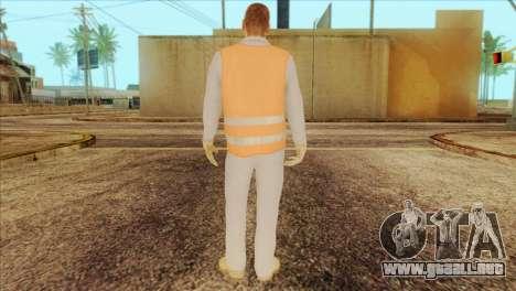Takedown Redsabre NPC Shipworker v2 para GTA San Andreas segunda pantalla
