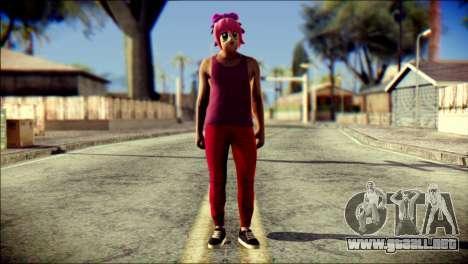 Skin Kawaiis GTA V Online v1 para GTA San Andreas