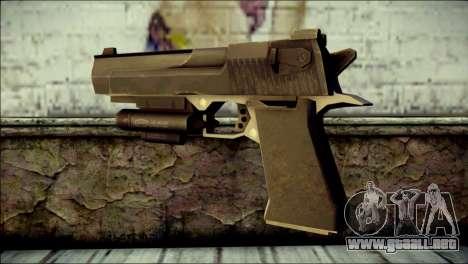Rumble 6 Desert Eagle para GTA San Andreas segunda pantalla