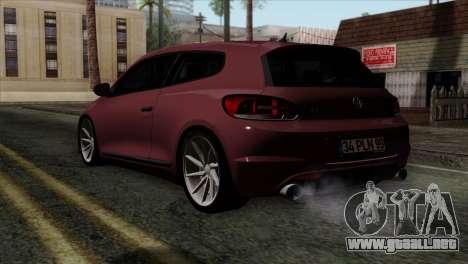 Volkswagen Scirocco R para GTA San Andreas left