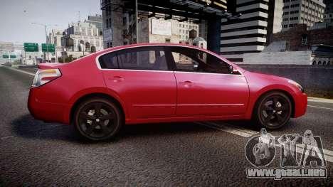 Nissan Altima 3.5 SE para GTA 4 left