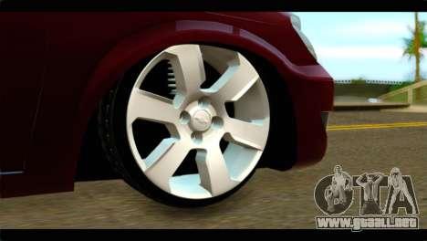 Chevrolet Celta VHC 1.0 para GTA San Andreas vista posterior izquierda