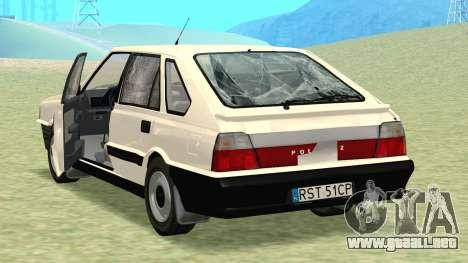 Daewoo-FSO Polonez Caro Además de ABC 1999 para las ruedas de GTA San Andreas