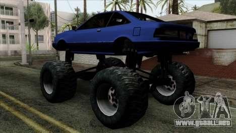 Monster Cadrona para GTA San Andreas left