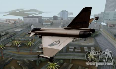Eurofighter Typhoon 2000 UPEO para GTA San Andreas left
