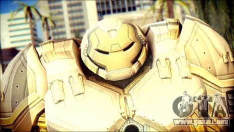 Hulkbuster Iron Man v2 para GTA San Andreas tercera pantalla