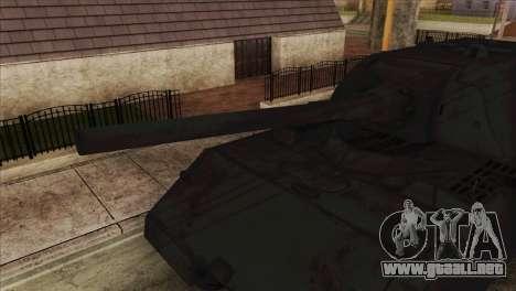 Panzerkampfwagen VIII Maus para GTA San Andreas vista posterior izquierda