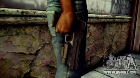 Rumble 6 Desert Eagle para GTA San Andreas tercera pantalla