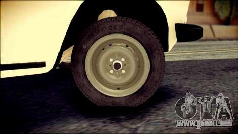 VAZ 2106 Stoke para GTA San Andreas vista posterior izquierda