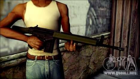 HK G3 Normal para GTA San Andreas tercera pantalla