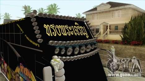 Bus Thailand para la visión correcta GTA San Andreas