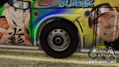 Bus Thailand para GTA San Andreas vista posterior izquierda