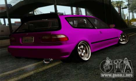 Honda Civic EG6 para GTA San Andreas left