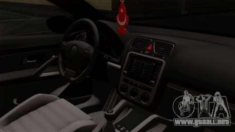 Volkswagen Scirocco R para la visión correcta GTA San Andreas