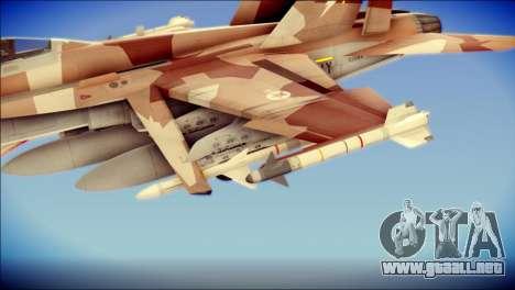 F-22 Raptor Starscream para la visión correcta GTA San Andreas