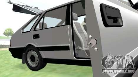 Daewoo-FSO Polonez Caro Además de ABC 1999 para la vista superior GTA San Andreas