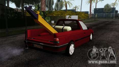 Peugeot 405 Pickup para GTA San Andreas left
