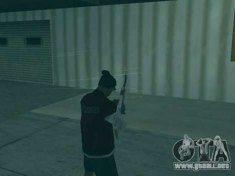 La trayectoria de las balas para GTA San Andreas