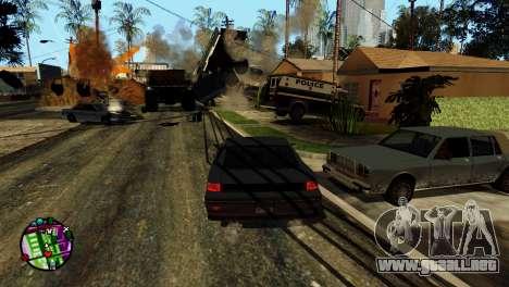 Transporte V2 en lugar de balas para GTA San Andreas undécima de pantalla
