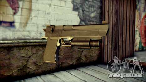 Rumble 6 Desert Eagle para GTA San Andreas