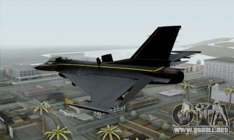 F-16XL para GTA San Andreas left