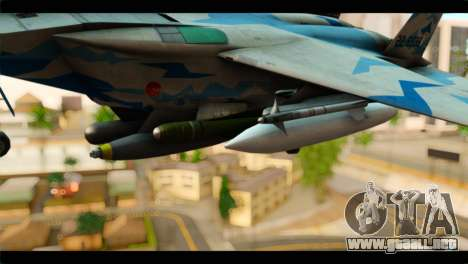 F-15E 303rd TFS Fighting Dragons para la visión correcta GTA San Andreas