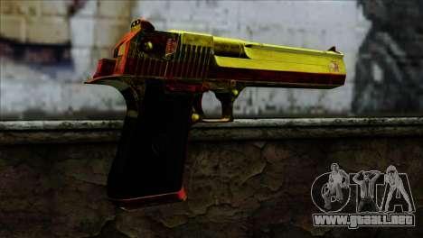 Desert Eagle España para GTA San Andreas segunda pantalla