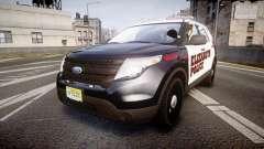 Ford Explorer 2011 Elizabeth Police [ELS]