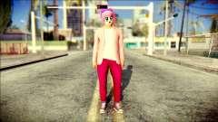 Skin Kawaiis GTA V Online v2 para GTA San Andreas